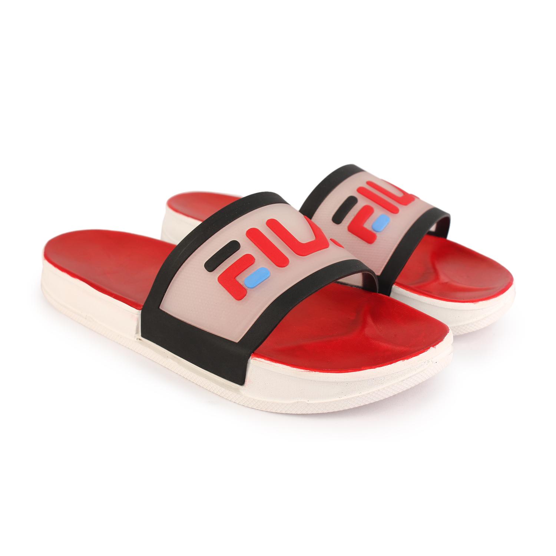 RNT | RNT Eila Red Grey Slipper for Men