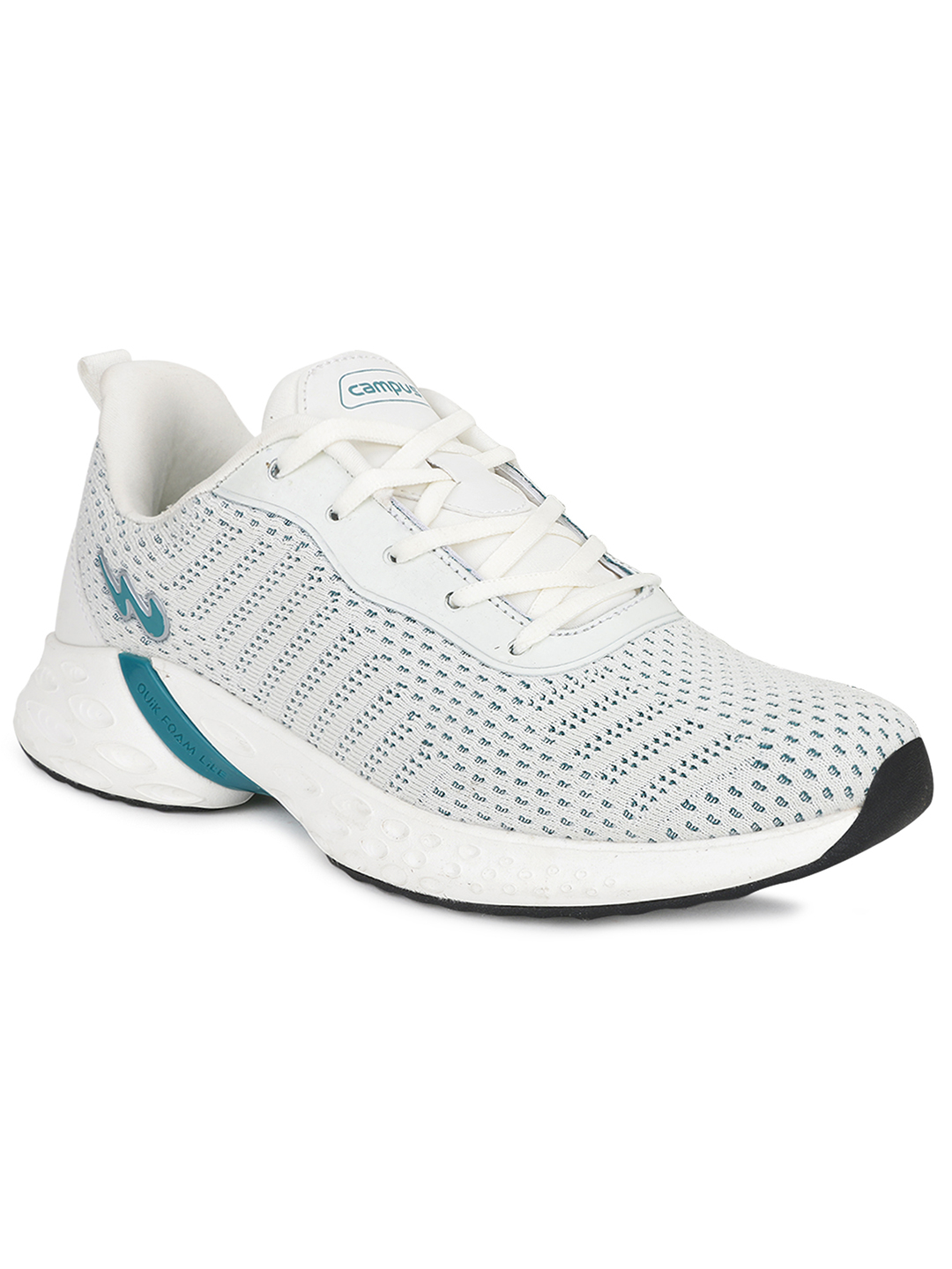 Campus Shoes | White Shawn Running Shoes