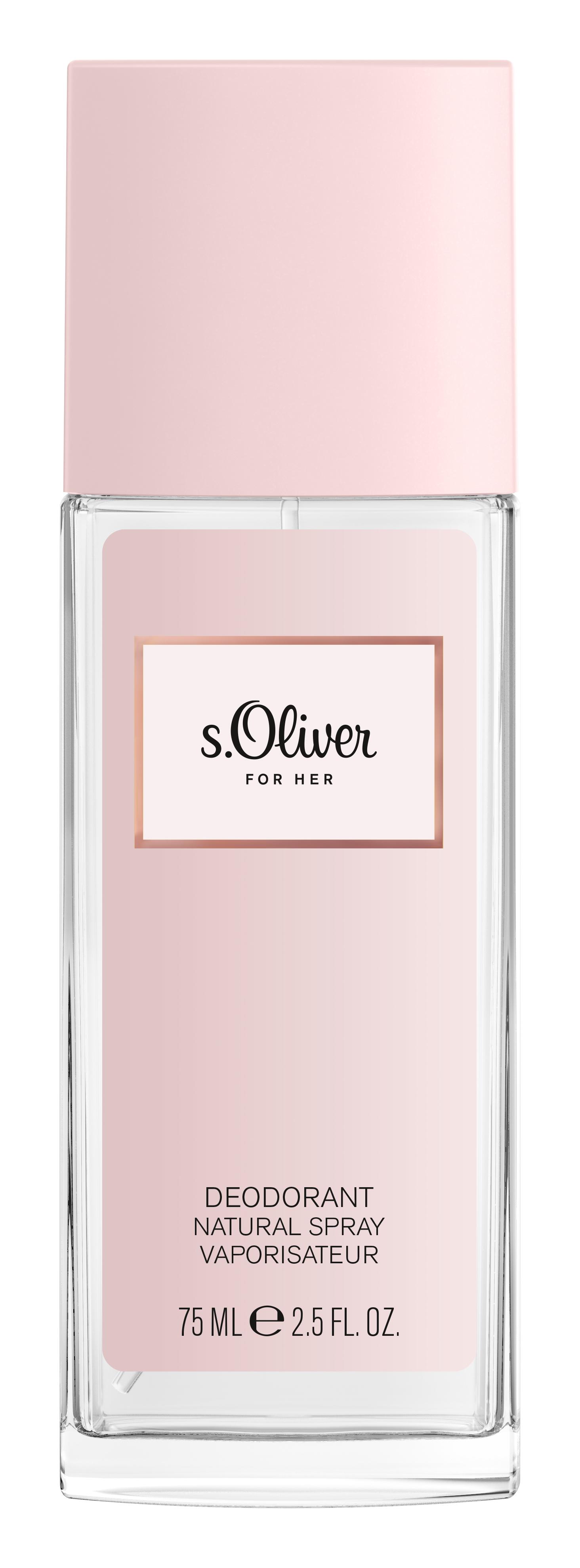 s.Oliver | s.Oliver For Her Deodorant Natural Spray 75ml