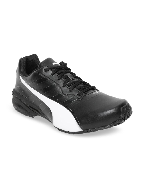 Puma | Black Puma Men Jago comfort v2 IDP Running Shoes