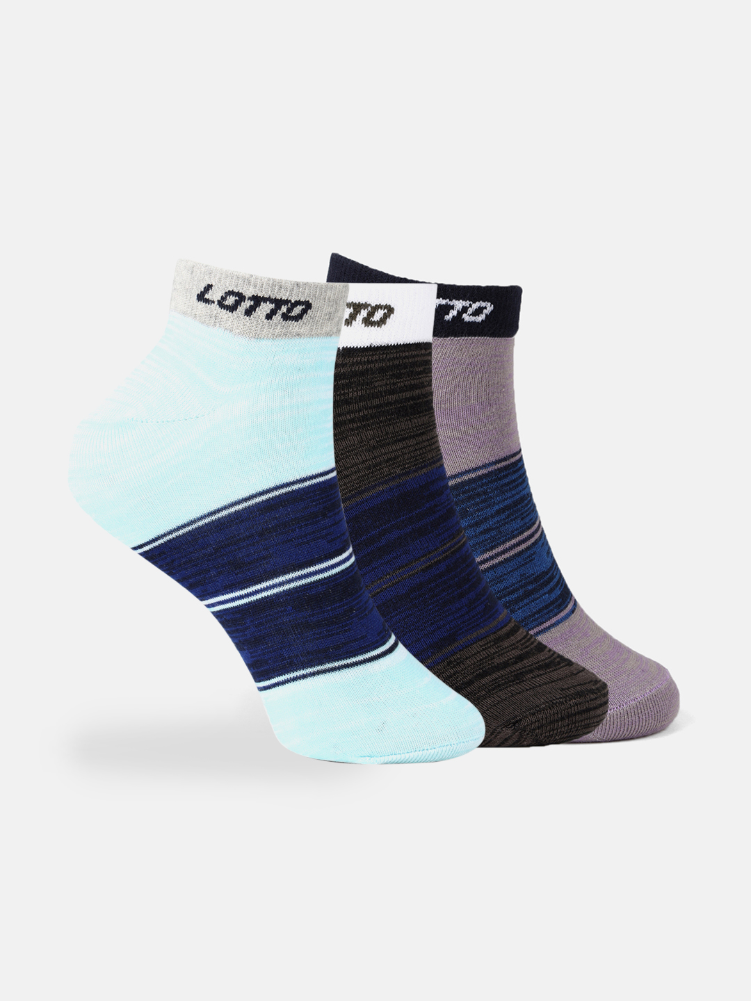 Lotto | Lotto Women's Wms Anklet Shade Trio Violet/Black/Blue Socks
