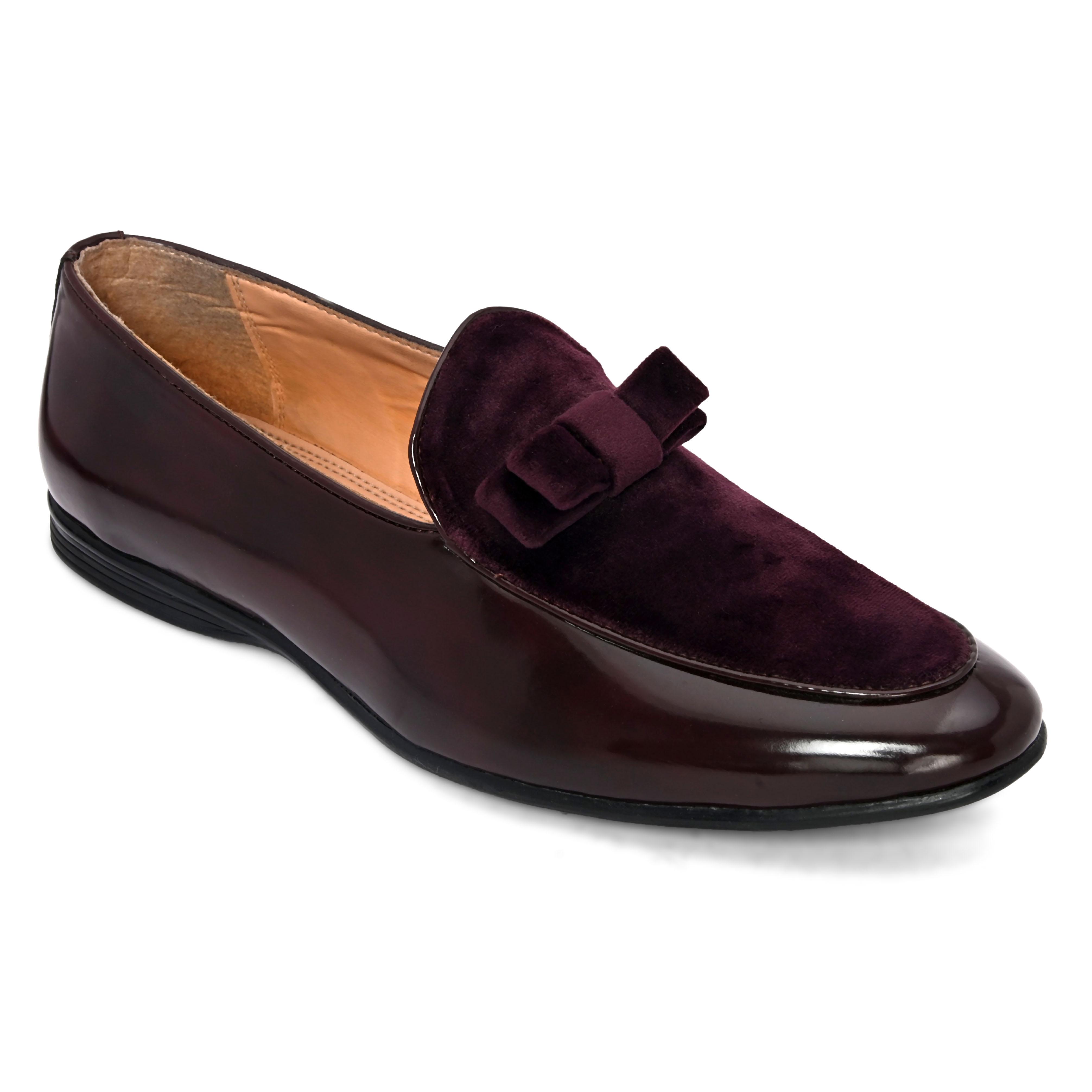 San Frissco | San Frissco Men Icon Cherry Formal Patent Loafers
