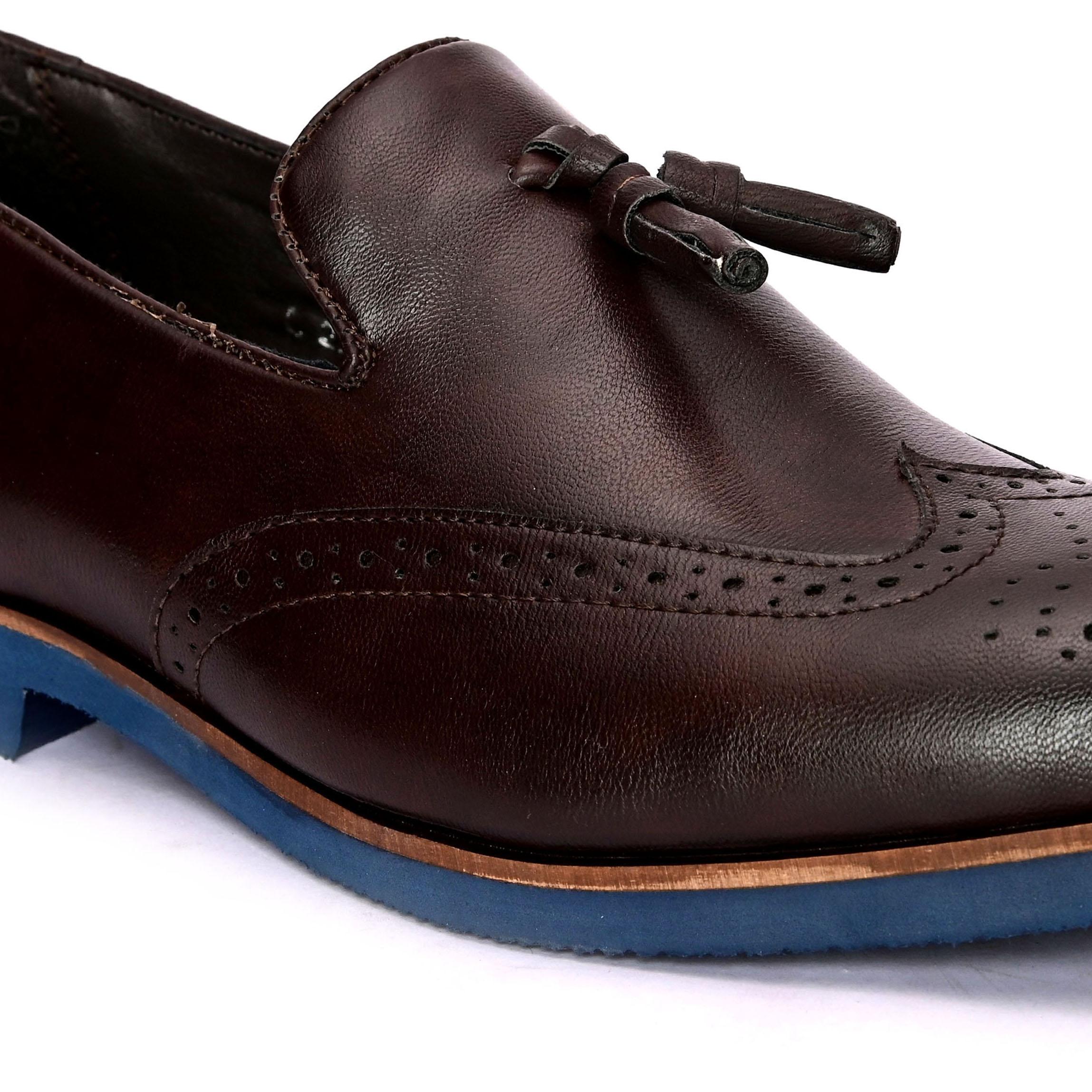 San Frissco | San Frissco Men Faux Leather Bronzer Brown Loafers