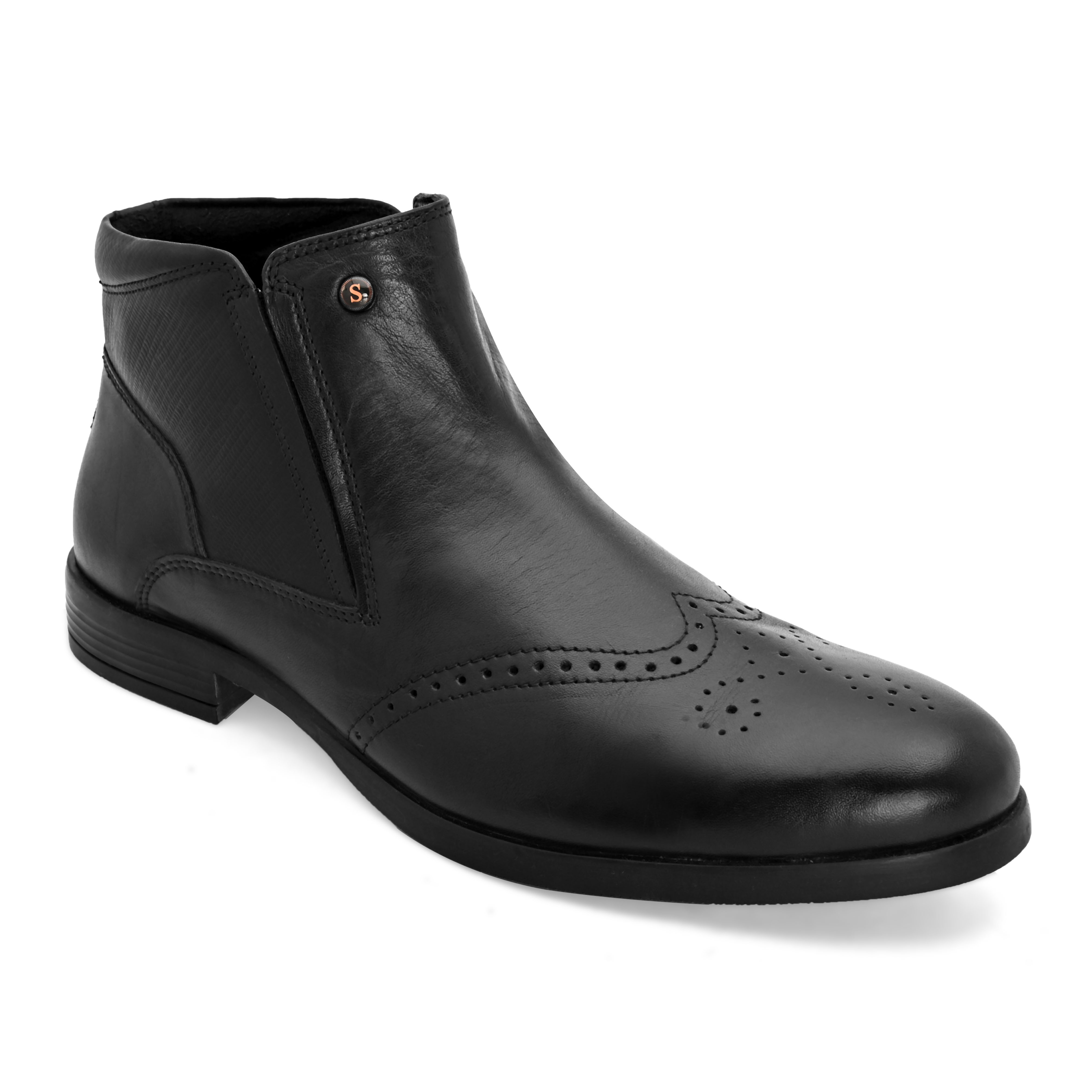San Frissco | San Frissco Men Trevon Black Formal Boots