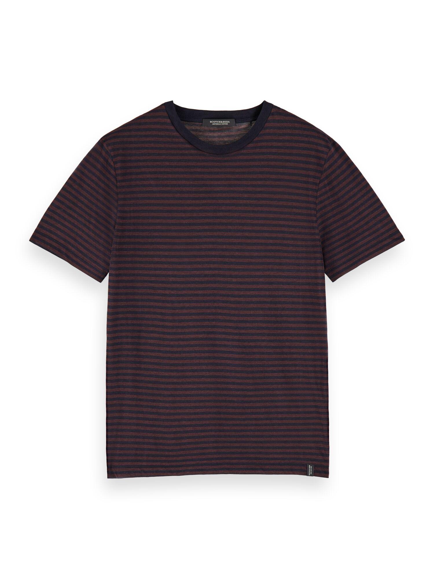 Scotch & Soda   Black Striped T-Shirt