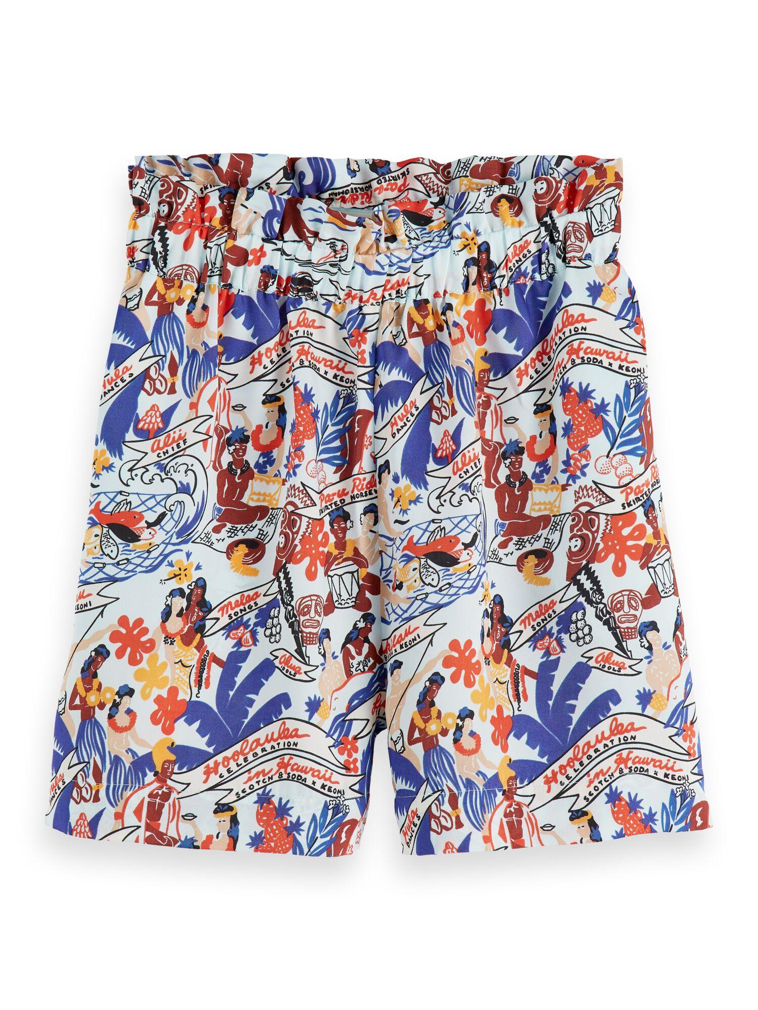 Scotch & Soda   Multicoloured Printed Shorts