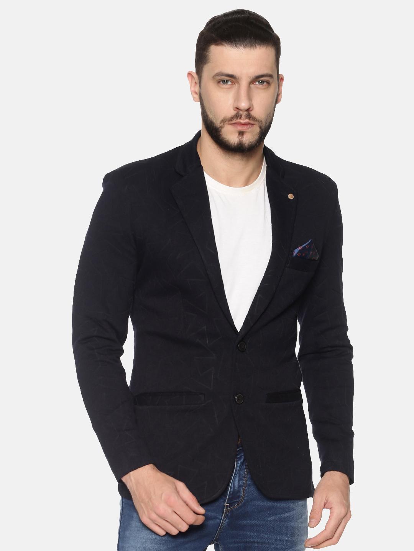 Showoff   SHOWOFF Mens Cotton Casual Solid Blazer
