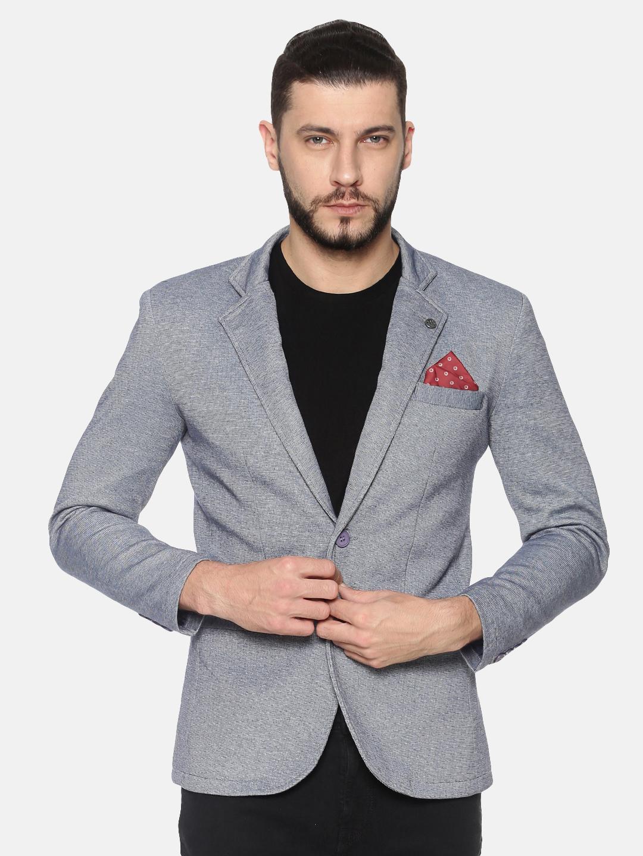 Showoff | SHOWOFF Mens Cotton Casual Solid Blazer