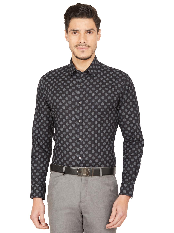 OXEMBERG | Oxemberg Men's Slim fit Printed Formal Shirt
