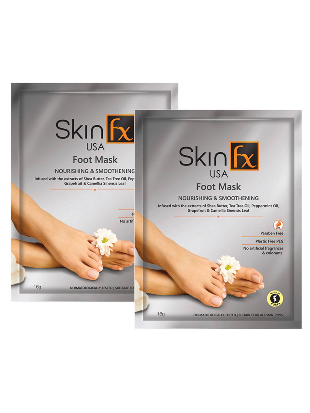 Skin Fx | Skin Fx Foot Mask For Nourishment And Smoothening Pack of 2
