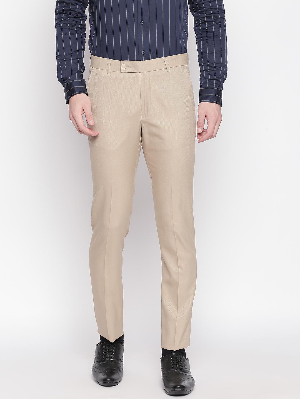 SOLEMIO   Solemio Poly Viscose Blend Trouser For Mens
