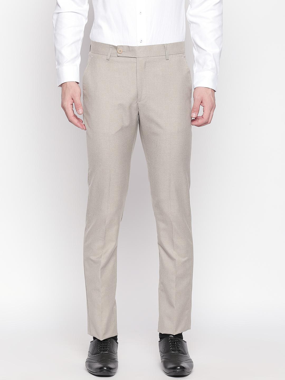 SOLEMIO | Solemio Poly Viscose Blend Trouser For Mens