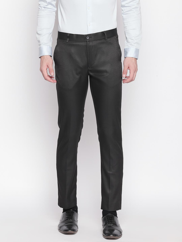 SOLEMIO | Solemio Poly Viscose Blend Ankle Length Trouser For Mens