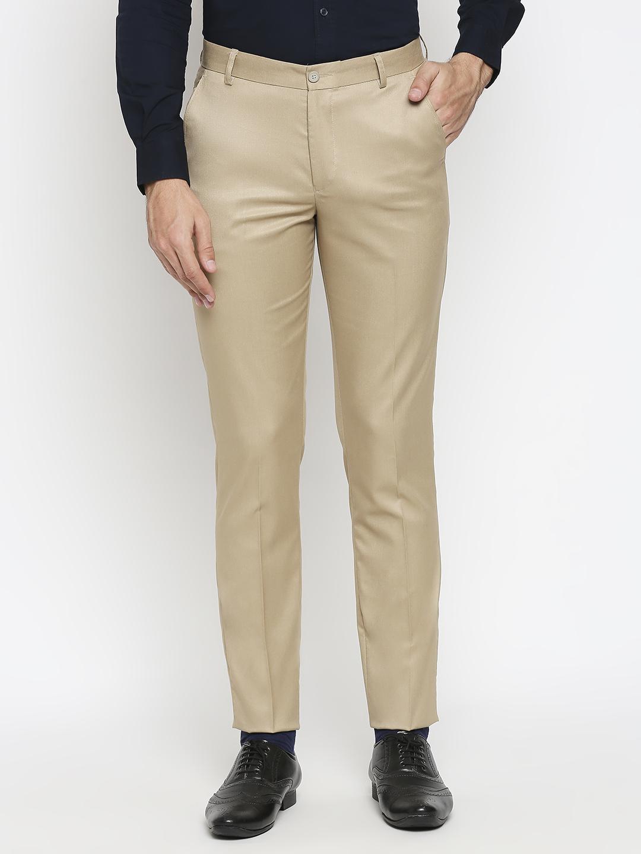 SOLEMIO | Solemio Poly Viscose Formal Trouser For Men