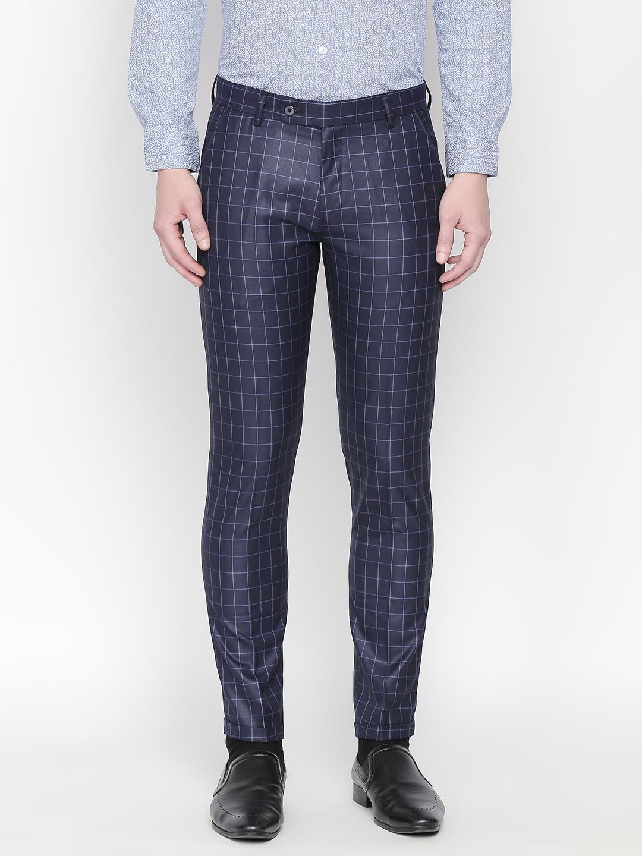 SOLEMIO | Solemio Men's Ankle Fit Polyester Viscose Trouser