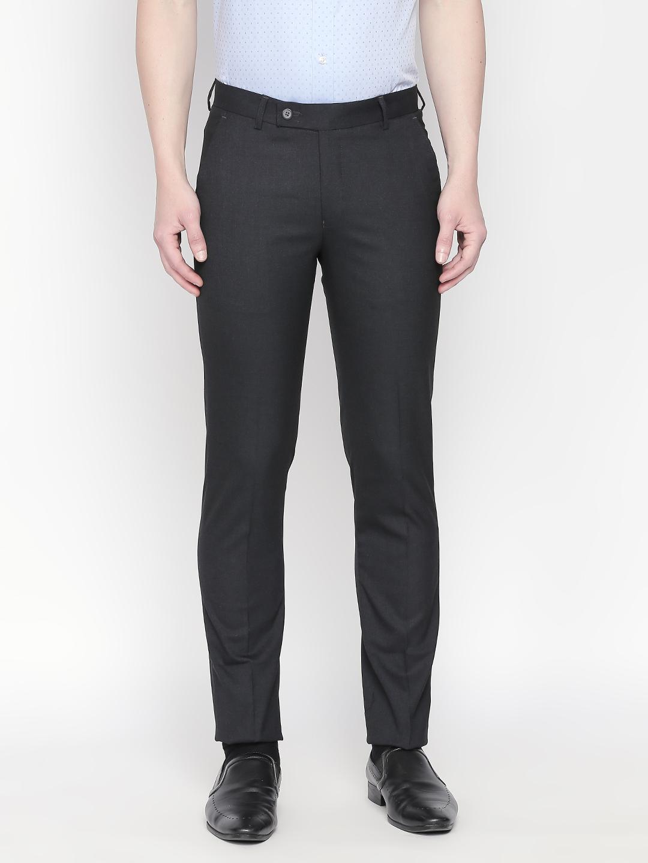 SOLEMIO | Solemio Men's Narrow Fit Polyester Viscose Lycra Trouser