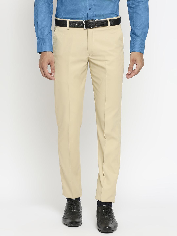 SOLEMIO | Solemio Polyester Formal Trouser For Men