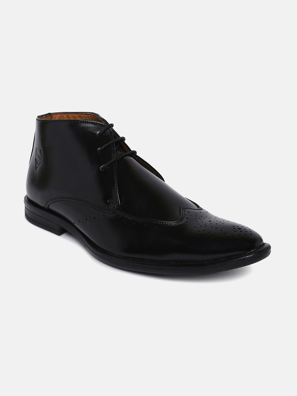 Stanfield   Stanfield SF Men's Sampson Boot Lace-up Shoe Black