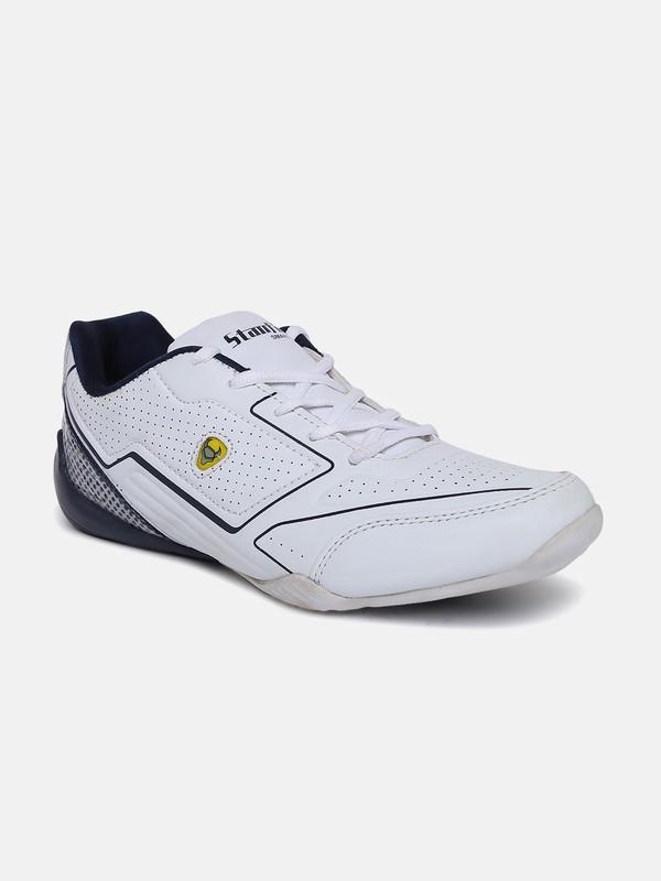Stanfield   SF Fusion Men's Lace-up shoe White/ Blue