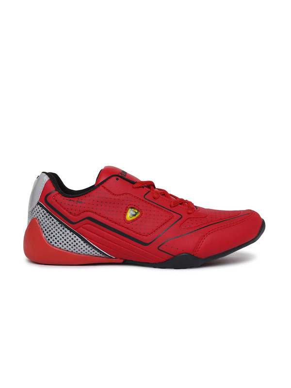 Stanfield | SF Fusion Men's Lace-up shoe Red/ Black