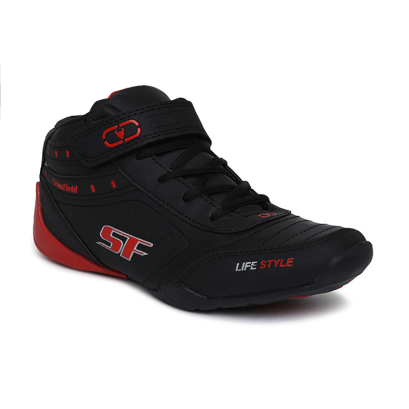 Stanfield   Stanfield SF Fusion Men's Ankle Lace-up shoe Black/Red
