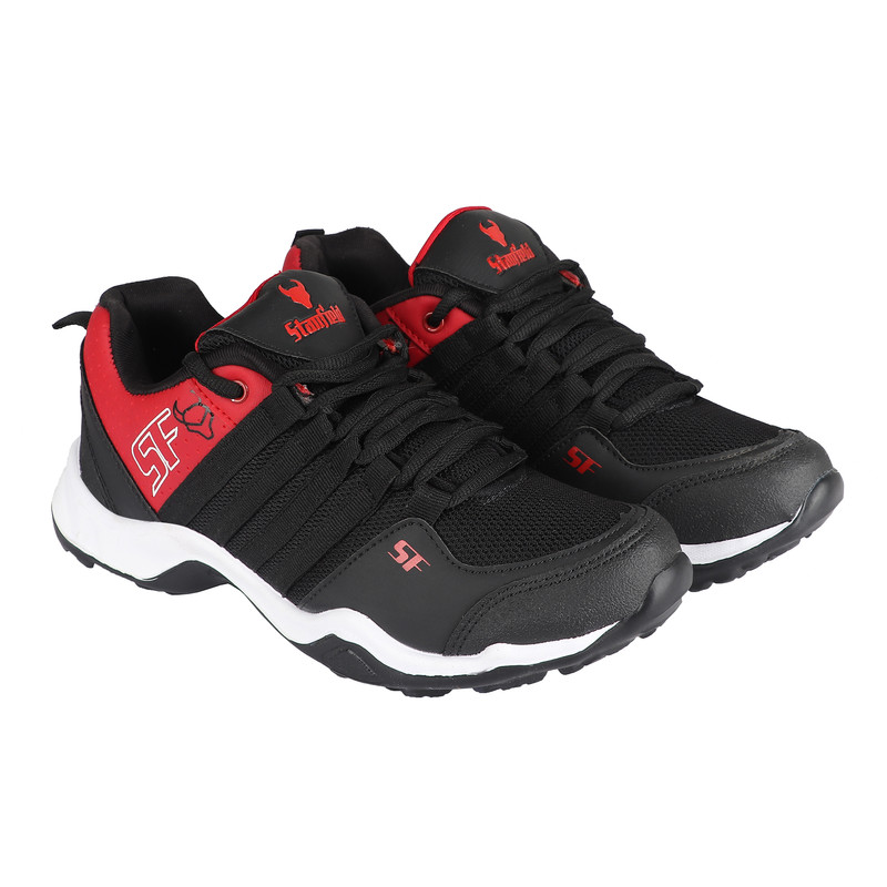 Stanfield | Stanfield SF Virtual  Men's Shoe Black/ Red