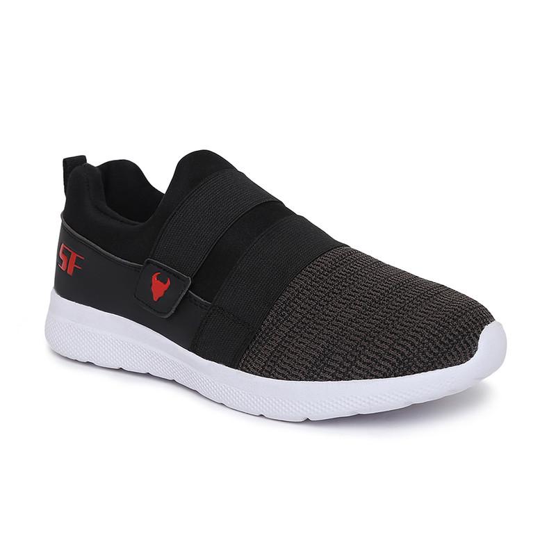 Stanfield | Stanfield SF Walkathon Men's Slip-on Shoe Grey/ Black