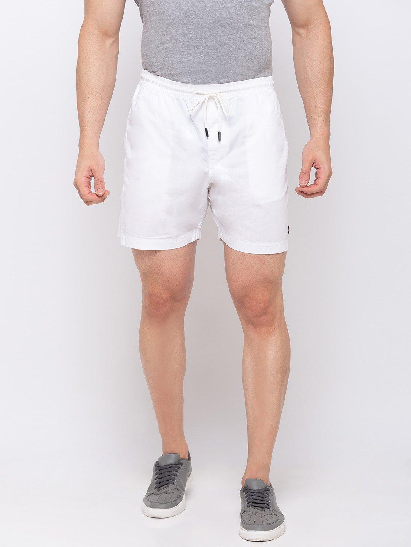 Status Quo | Solid Regular Fit Shorts