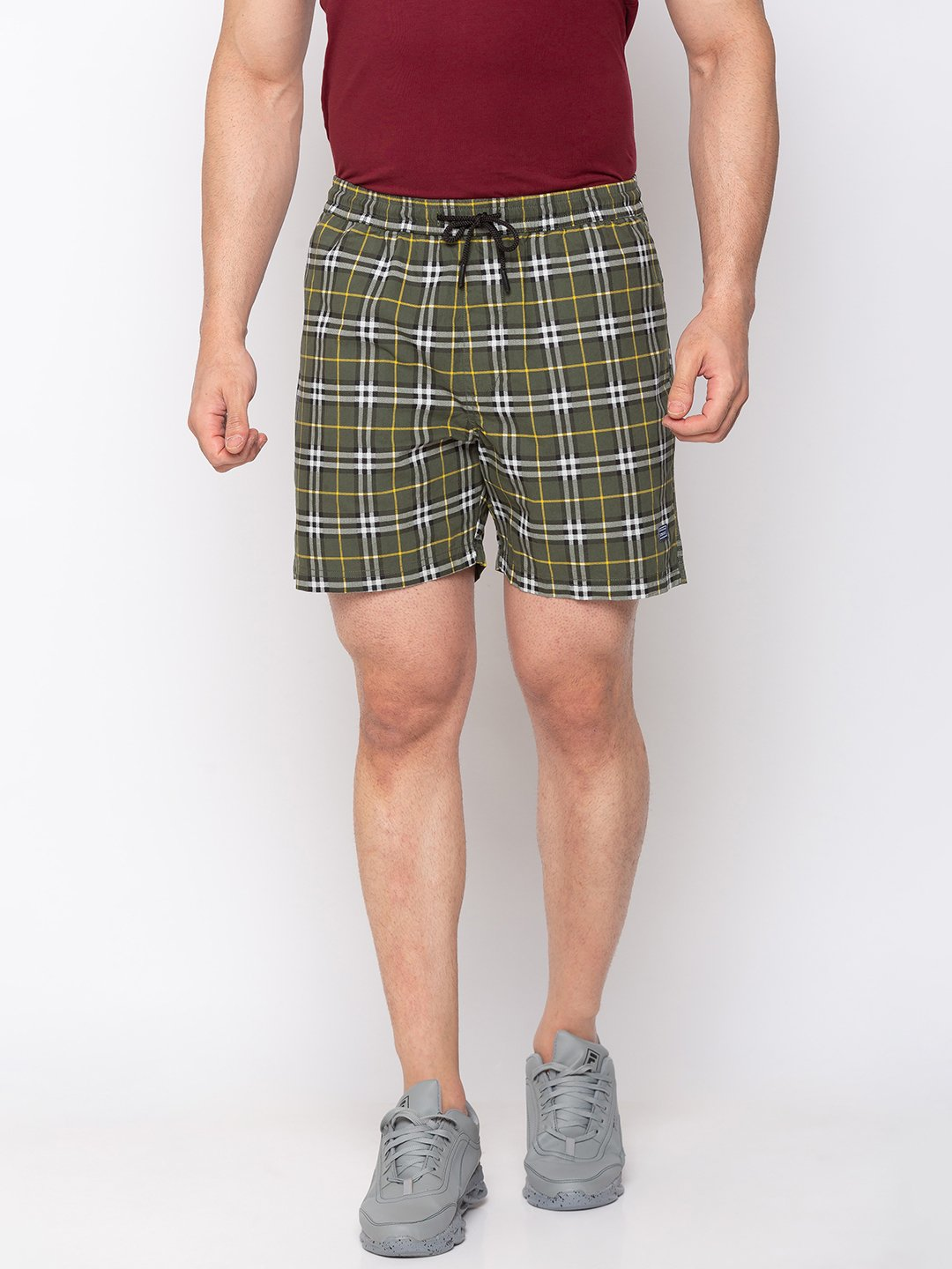 Status Quo | Printed Woven Shorts