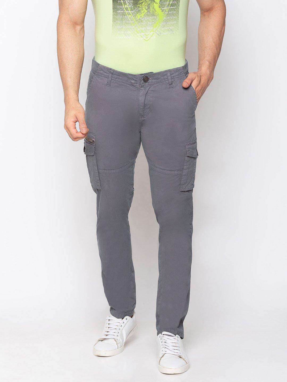 Status Quo | Solid Regular Fit Trousers