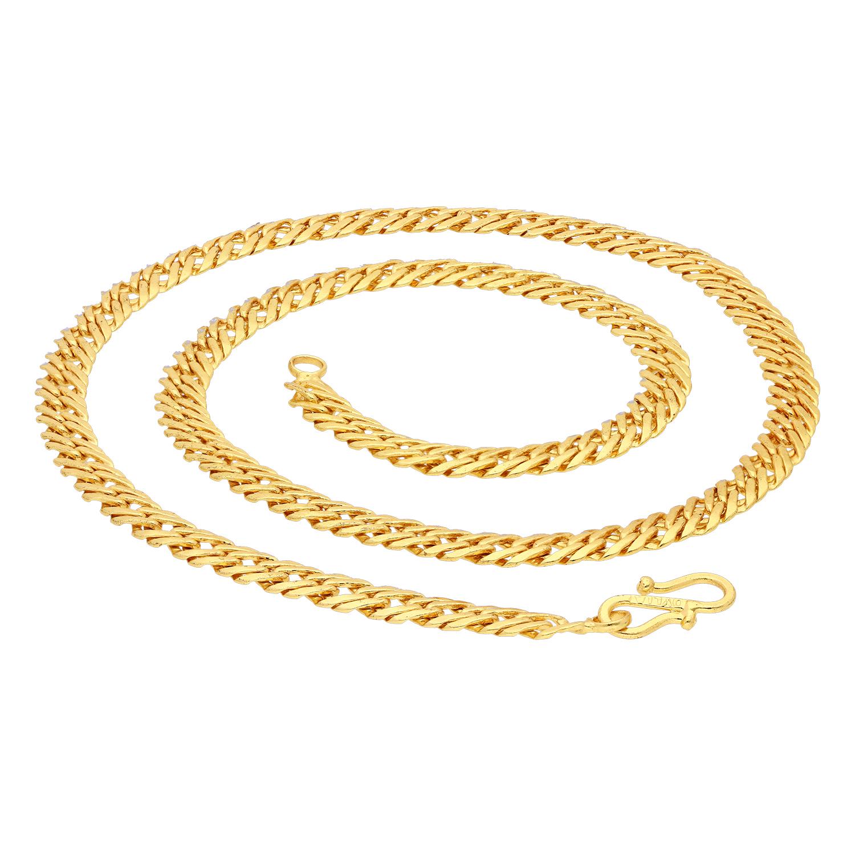 SUKKHI   Sukkhi Spectacular Gold Plated Unisex Herringbone Chain