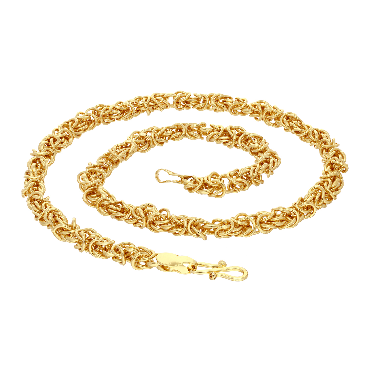 SUKKHI   Sukkhi Exclusive Gold Plated Unisex Byzantine Chain