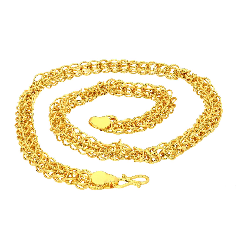 SUKKHI   Sukkhi Eye-Catchy Gold Plated Unisex Chain