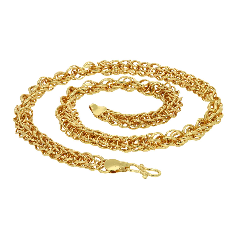SUKKHI   Sukkhi Fascinating Gold Plated Unisex Chain