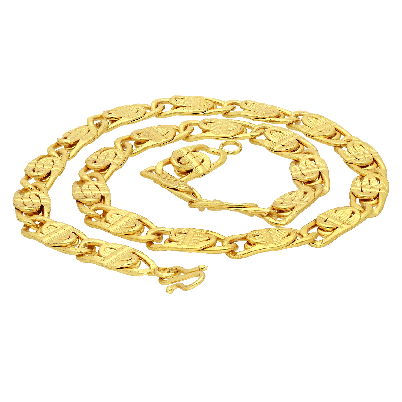 SUKKHI   Sukkhi Eye-Catching Gold Plated Unisex Chain
