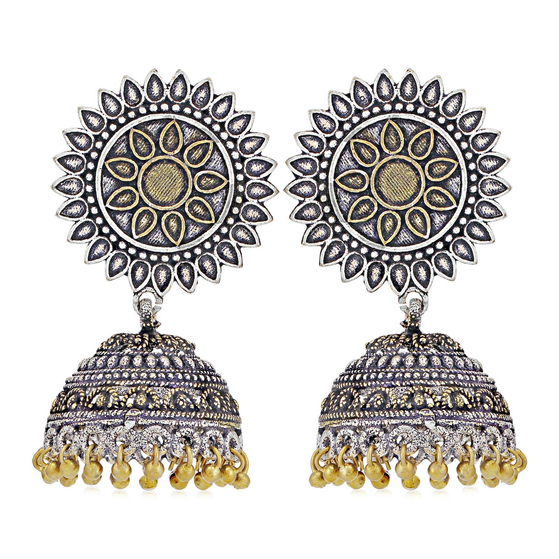 SUKKHI   Sukkhi Exotic Oxidised Jhumki Earring for Women