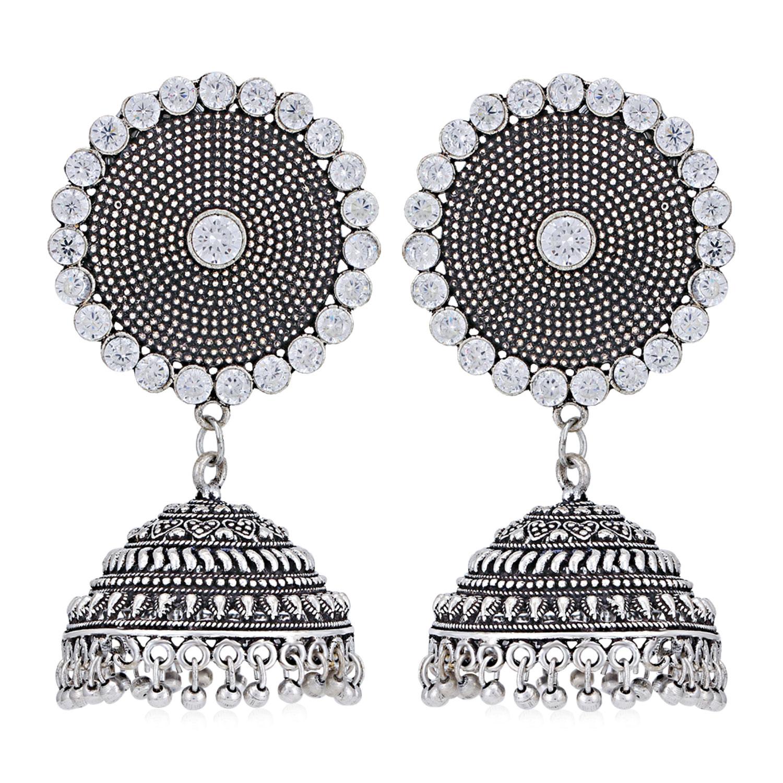 SUKKHI | Sukkhi Alluring Oxidised Jhumki Earring for Women