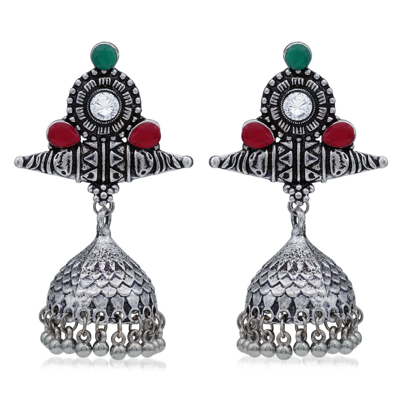 SUKKHI | Sukkhi Adorable Oxidised Jhumki Earring For Women