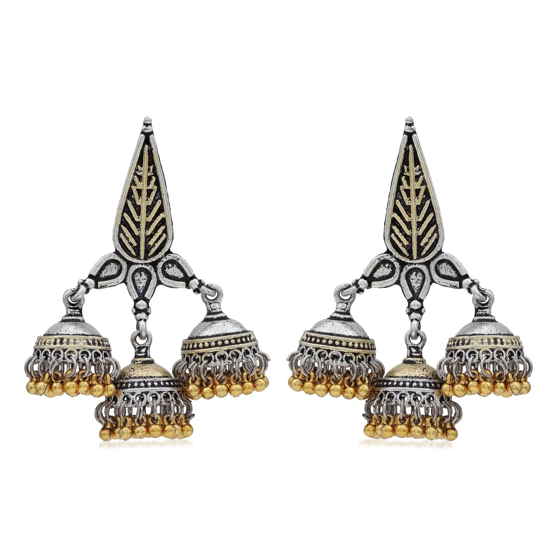 SUKKHI   Sukkhi Elegant Oxidised Jhumki Earring For Women