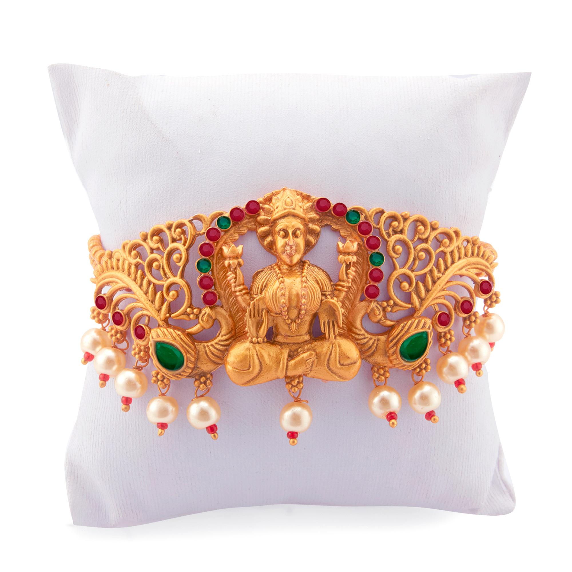 SUKKHI | Sukkhi Exotic Gold Plated Pearl Bajuband for Women