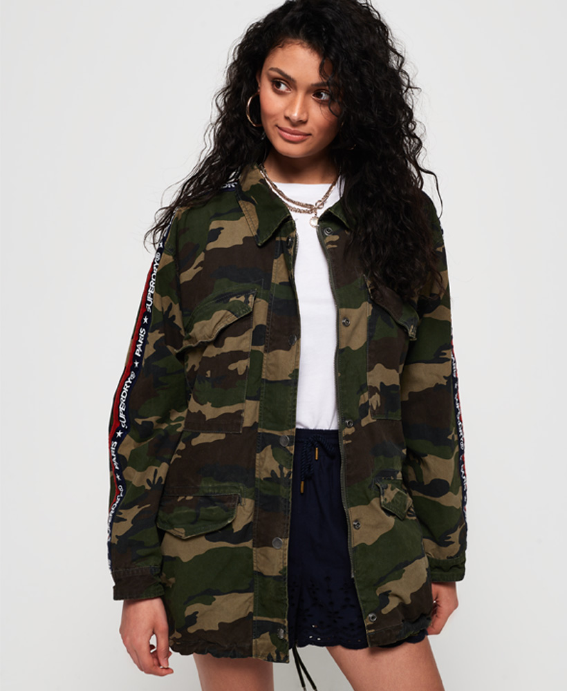 Superdry | LILITH OVERSIZED ROOKIE SHACKET