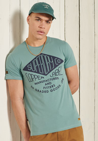 Superdry | SS WORKWEAR GRAPHIC TEE 185