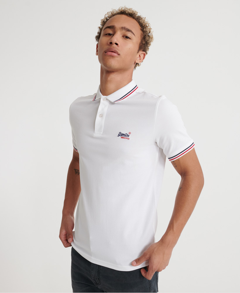 Superdry   CLASSIC MICRO LITE TIPPED S/S POLO