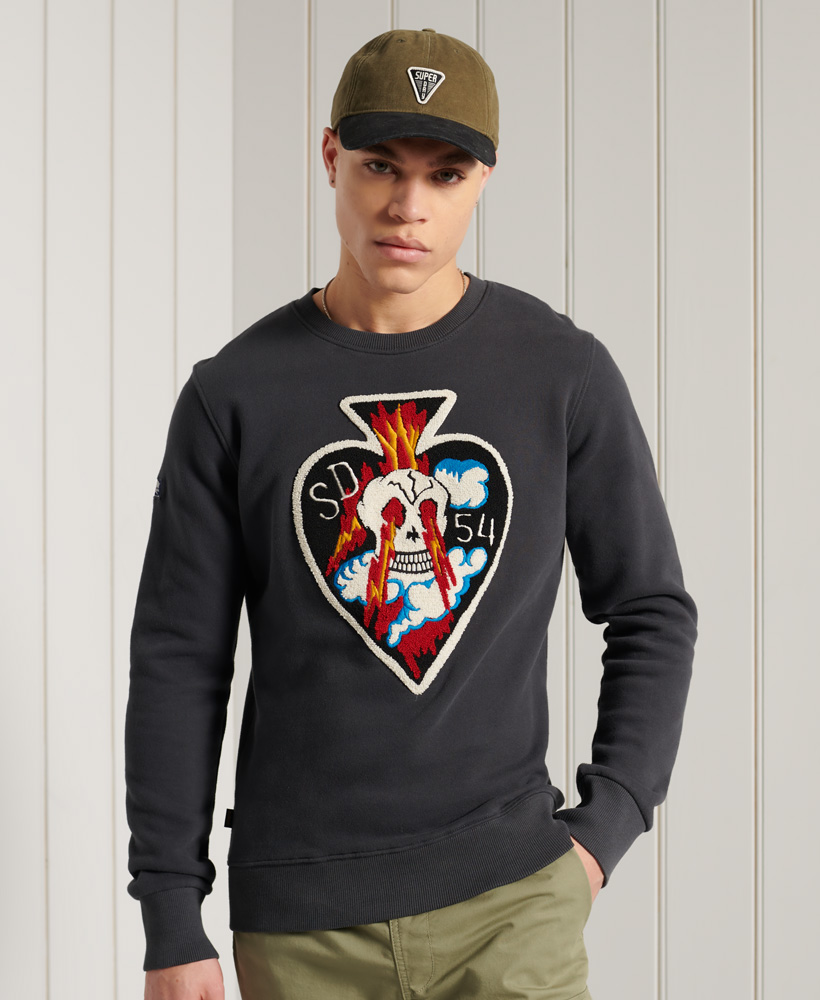Superdry | CHENILLE PATCH CREW 050620