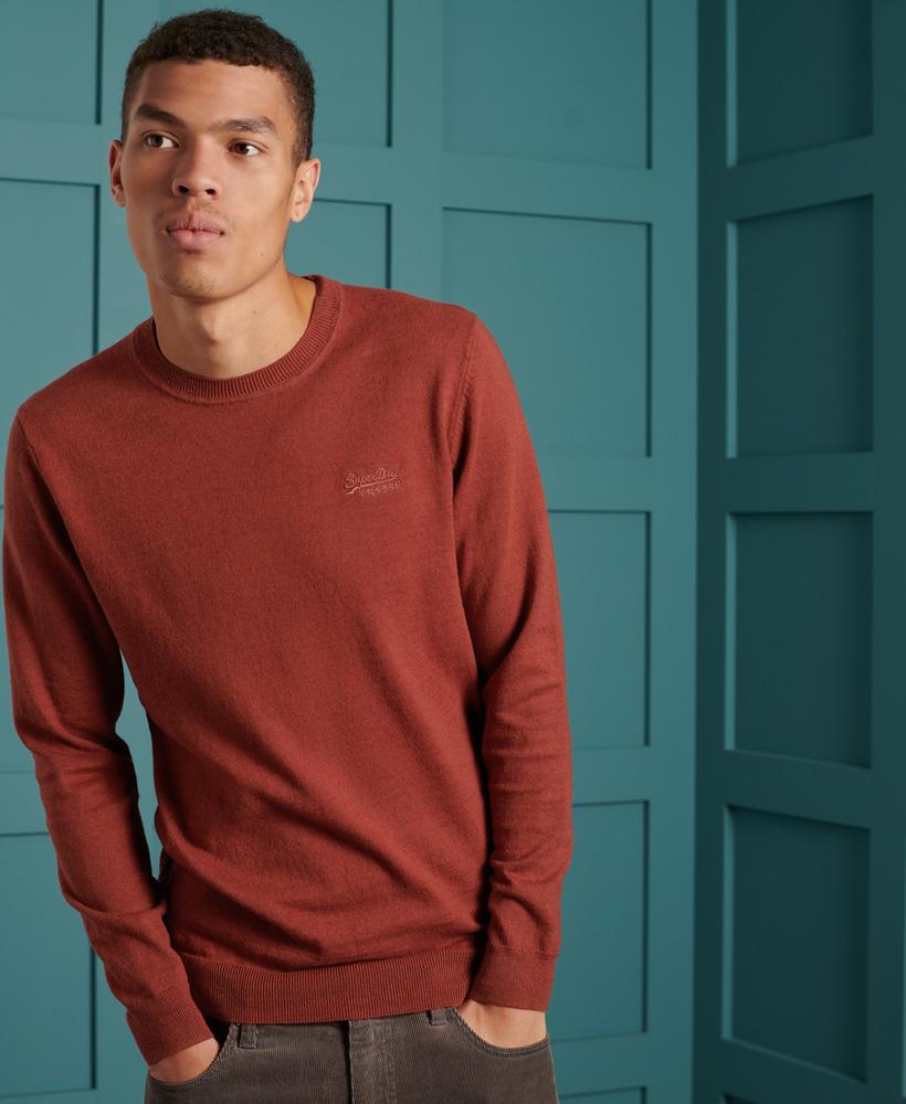 Superdry | Maroon Solid Sweatshirt