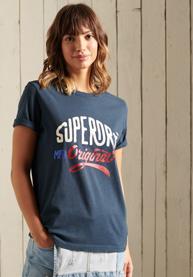 Superdry | AMERICANA GLITTER TEE 050620