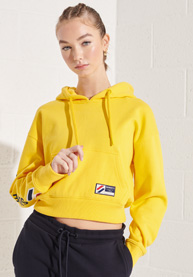 Superdry   SPORTSTYLE GRAPHIC BOXY HOOD