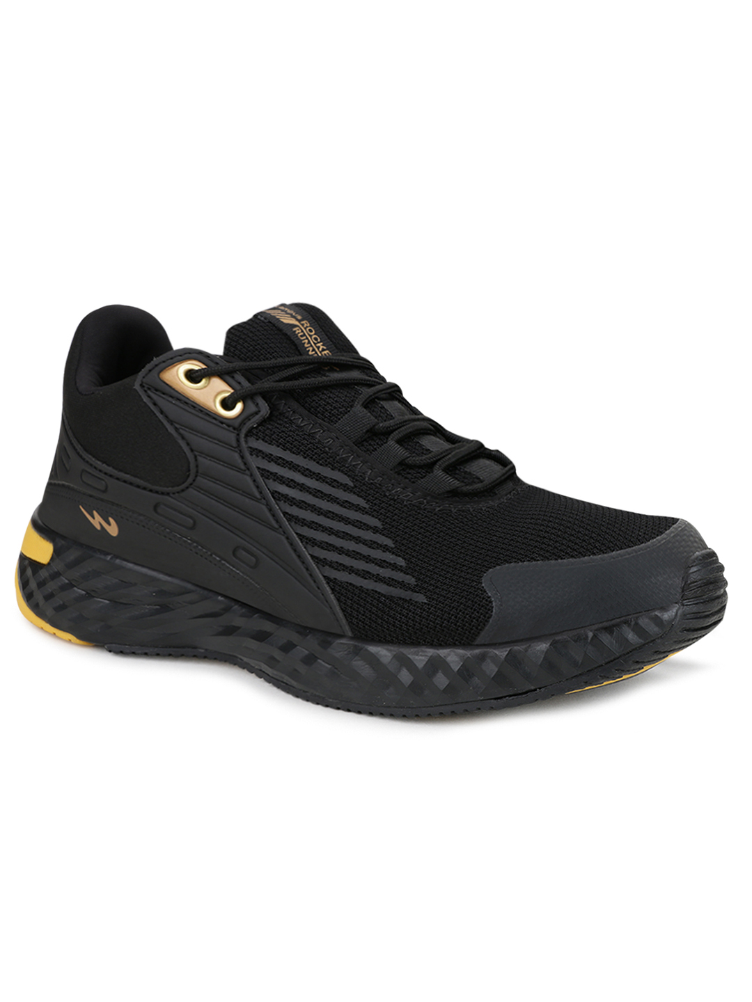 Campus Shoes | Black Rocket Running Shoes
