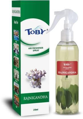 Toby | TOBY RAJNIGANDHA Air Freshener (Room Spray) - 250 ml*2