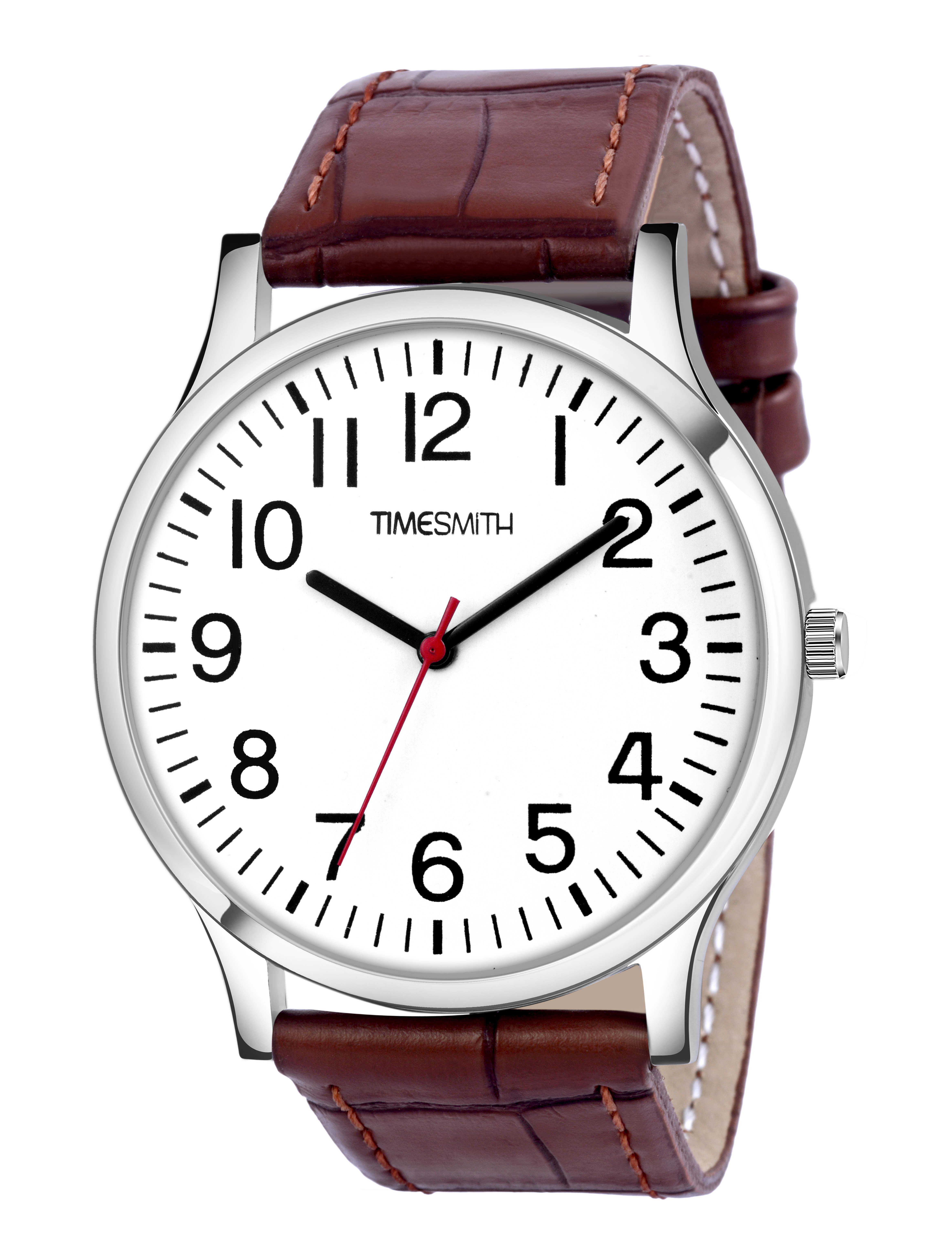 Timesmith   Timesmith Brown Leather Blue Dial Watch For Men CTC-004mtn